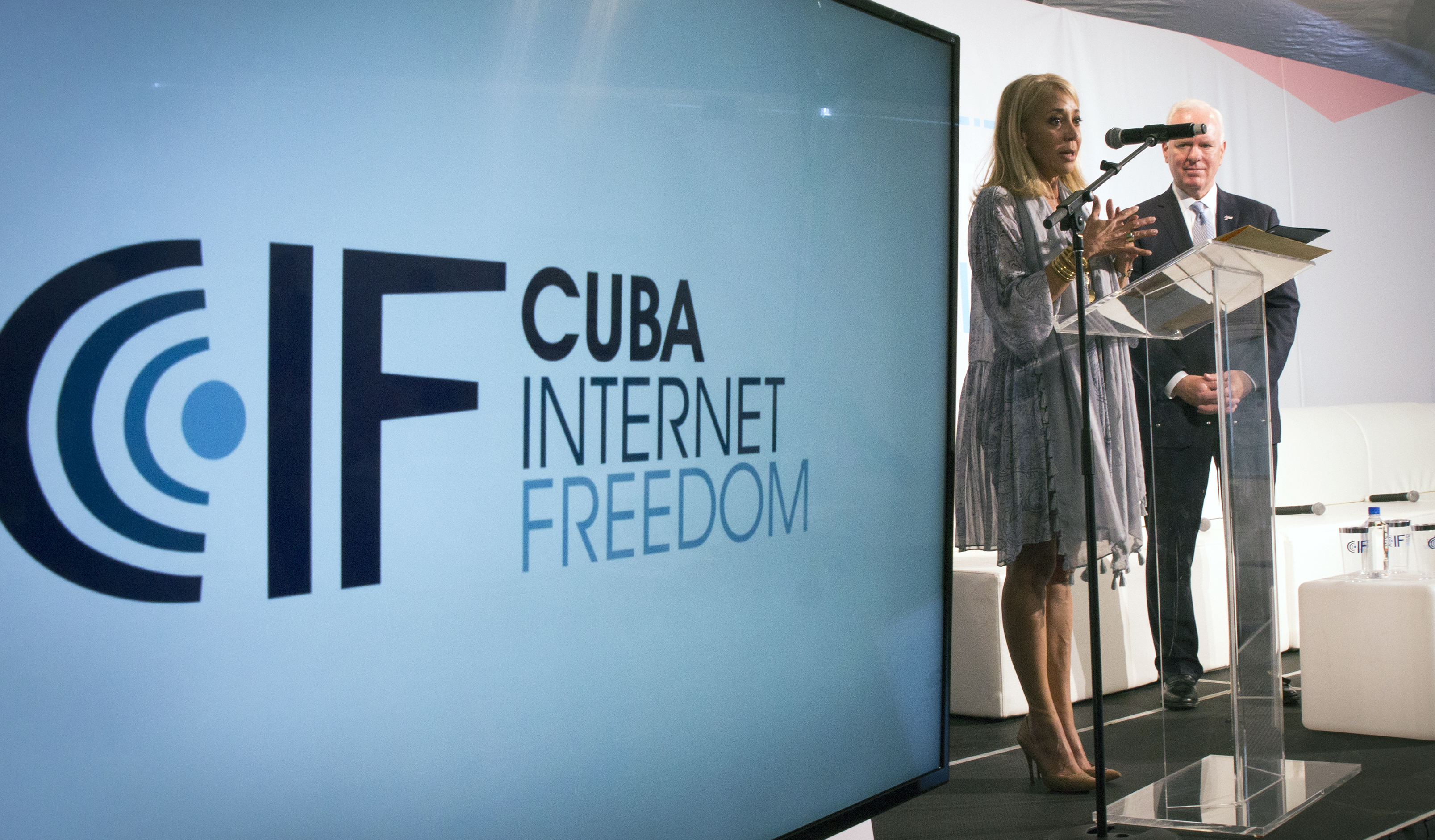 Speakers at the BBG Cuba Internet Freedom Conference